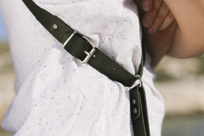 Black Leather Camera Strap
