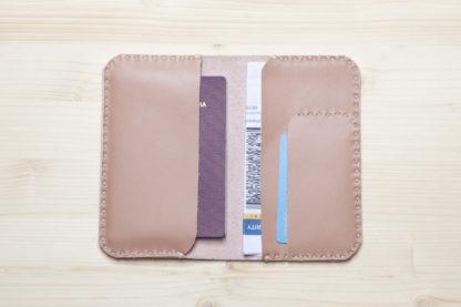 Handmade Leather Passport Cover