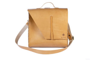 Beige Leather 3in1 Bag
