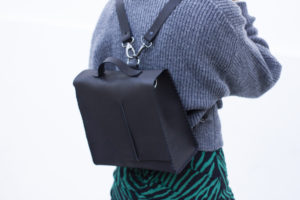 Black Leather 3in1 Bag